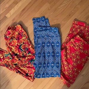(3) Lularoe T&C leggings new